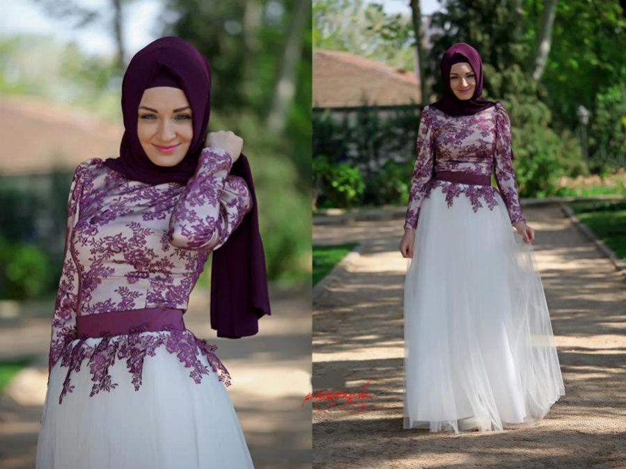 Model Busana Muslim Pesta Terbaru Pipitningtyas